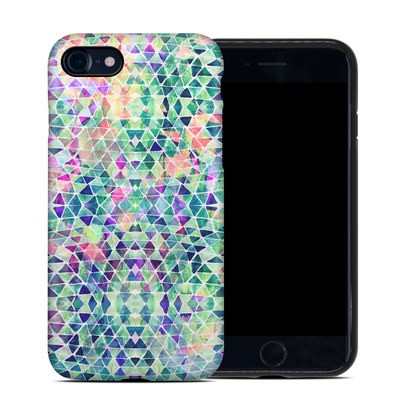 Apple iPhone 7 Hybrid Case - Pastel Triangle