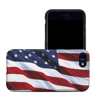 Apple iPhone 7 Hybrid Case - Patriotic