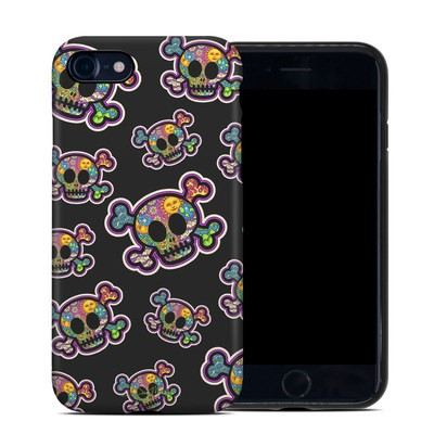 Apple iPhone 7 Hybrid Case - Peace Skulls