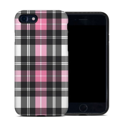 Apple iPhone 7 Hybrid Case - Pink Plaid