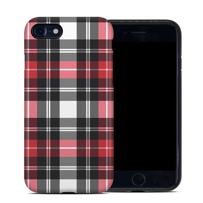 Apple iPhone 7 Hybrid Case - Red Plaid