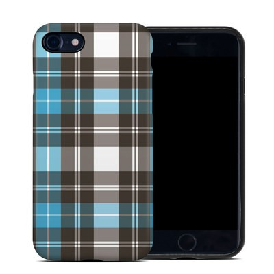 Apple iPhone 7 Hybrid Case - Turquoise Plaid