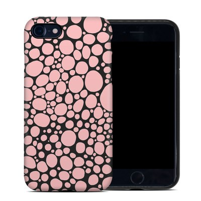 Apple iPhone 7 Hybrid Case - Pink Bubbles