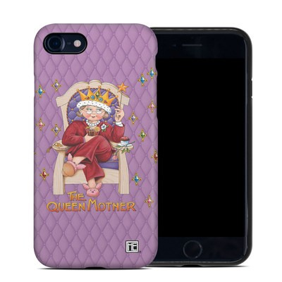 Apple iPhone 7 Hybrid Case - Queen Mother