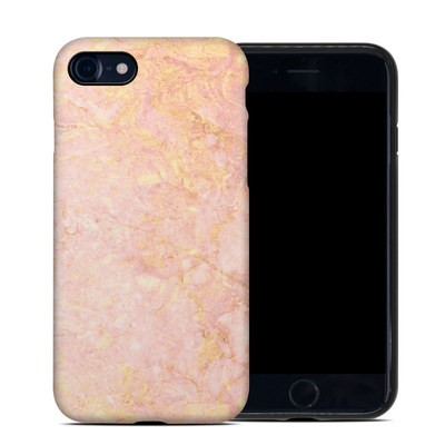Apple iPhone 7 Hybrid Case - Rose Gold Marble