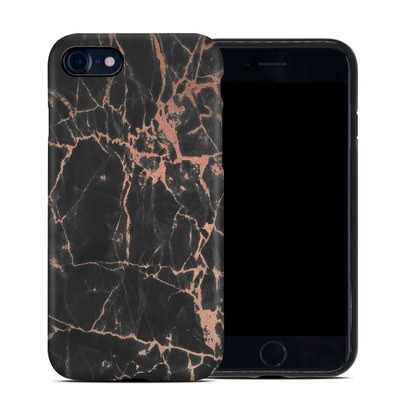 Apple iPhone 7 Hybrid Case - Rose Quartz Marble