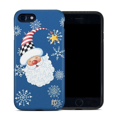 Apple iPhone 7 Hybrid Case - Santa Snowflake