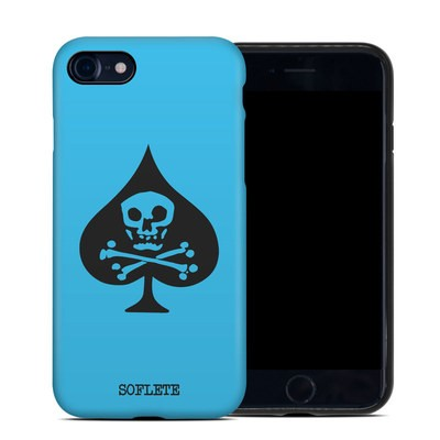 Apple iPhone 7 Hybrid Case - SOFLETE Blue Logo