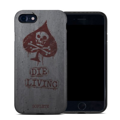 Apple iPhone 7 Hybrid Case - SOFLETE Die Living Bomber