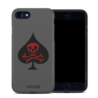 Apple iPhone 7 Hybrid Case - SOFLETE Grey Logo