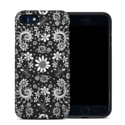 Apple iPhone 7 Hybrid Case - Shaded Daisy