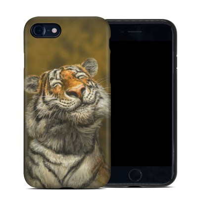 Apple iPhone 7 Hybrid Case - Smiling Tiger