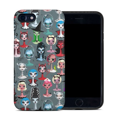 Apple iPhone 7 Hybrid Case - Spooky Dolls