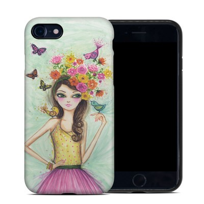 Apple iPhone 7 Hybrid Case - Spring Time
