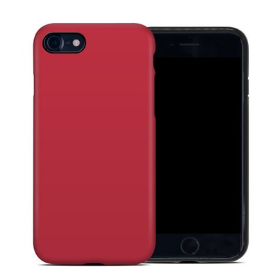 Apple iPhone 7 Hybrid Case - Solid State Red