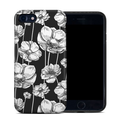 Apple iPhone 7 Hybrid Case - Striped Blooms