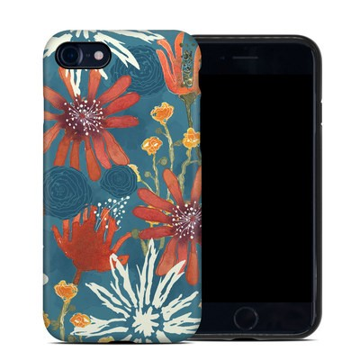 Apple iPhone 7 Hybrid Case - Sunbaked Blooms
