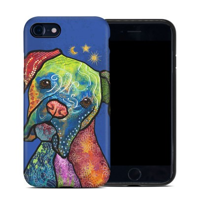 Apple iPhone 7 Hybrid Case - Sun Moon Stars