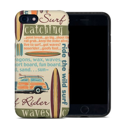 Apple iPhone 7 Hybrid Case - Surf Words