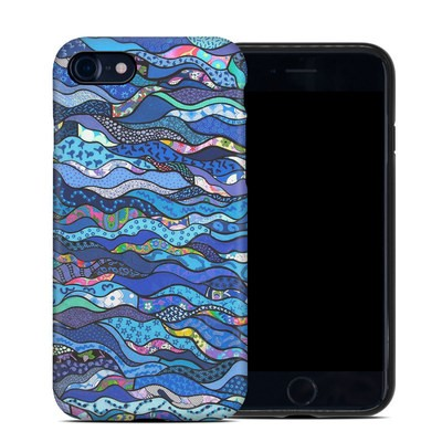 Apple iPhone 7 Hybrid Case - The Blues