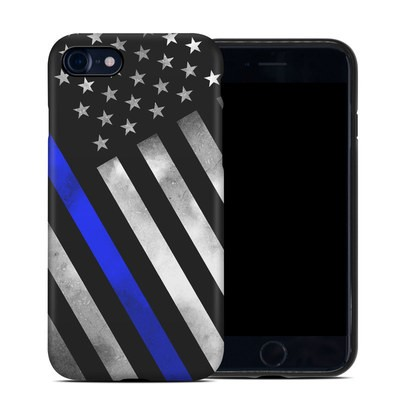 Apple iPhone 7 Hybrid Case - Thin Blue Line Hero