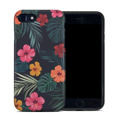 Apple iPhone 7 Hybrid Case - Tropical Hibiscus
