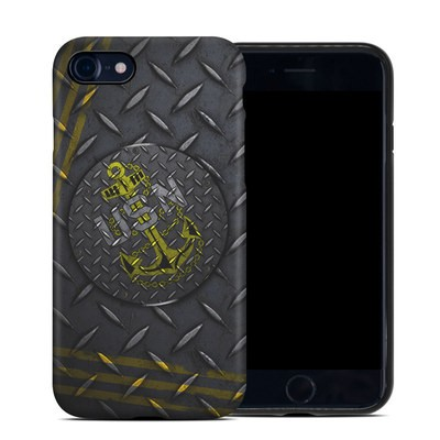 Apple iPhone 7 Hybrid Case - USN Diamond Plate