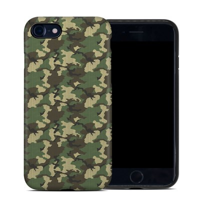Apple iPhone 7 Hybrid Case - Woodland Camo