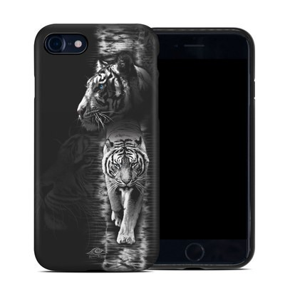 Apple iPhone 7 Hybrid Case - White Tiger