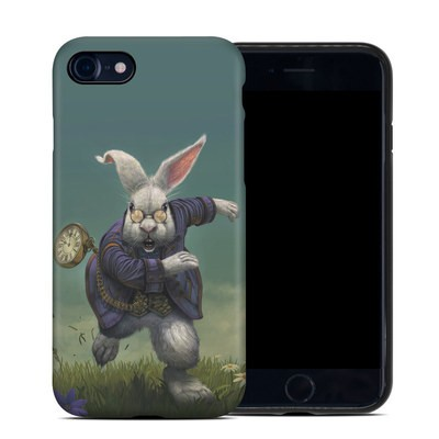 Apple iPhone 7 Hybrid Case - White Rabbit