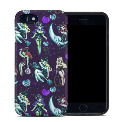 Apple iPhone 7 Hybrid Case - Witches and Black Cats