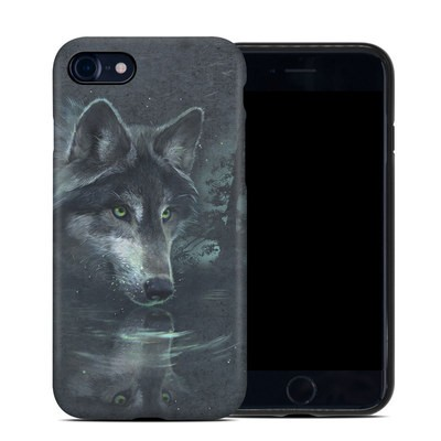 Apple iPhone 7 Hybrid Case - Wolf Reflection