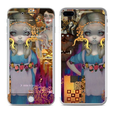 Apple iPhone 7 Plus Skin - Alice in a Klimt Dream