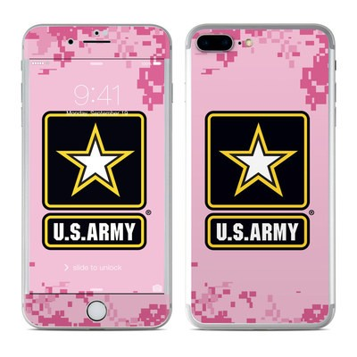 Apple iPhone 7 Plus Skin - Army Pink