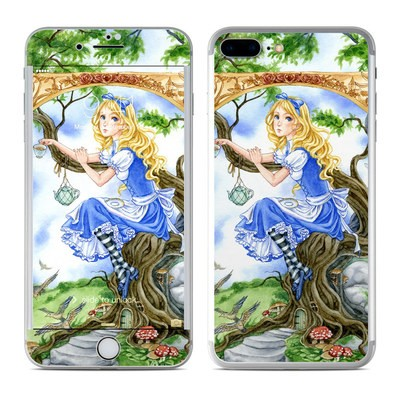 Apple iPhone 7 Plus Skin - Alice's Tea Time