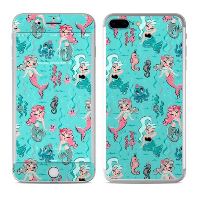 Apple iPhone 7 Plus Skin - Babydoll Mermaids