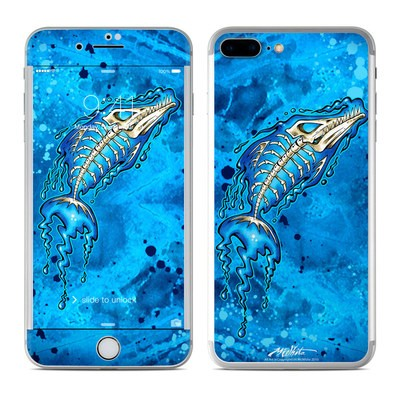 Apple iPhone 7 Plus Skin - Barracuda Bones
