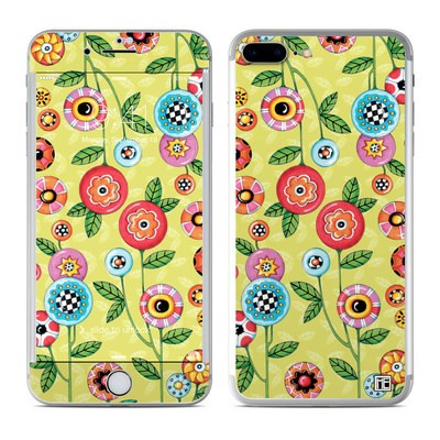 Apple iPhone 7 Plus Skin - Button Flowers