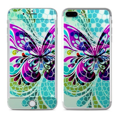Apple iPhone 7 Plus Skin - Butterfly Glass