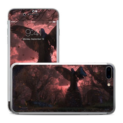 Apple iPhone 7 Plus Skin - Black Angel
