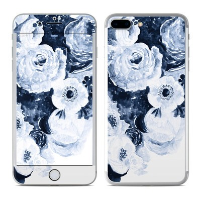 Apple iPhone 7 Plus Skin - Blue Blooms