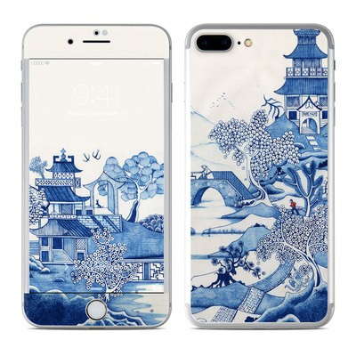 Apple iPhone 7 Plus Skin - Blue Willow