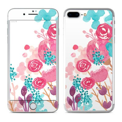 Apple iPhone 7 Plus Skin - Blush Blossoms