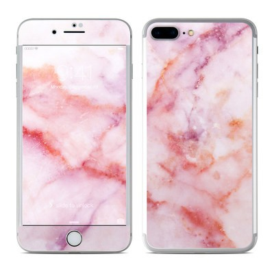 Apple Iphone 7 Plus Skin Rose Gold Marble By Marble Collection