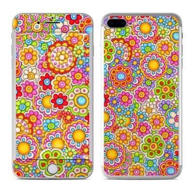 Apple iPhone 7 Plus Skin - Bright Ditzy