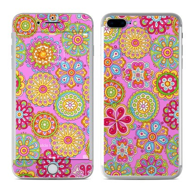 Apple iPhone 7 Plus Skin - Bright Flowers