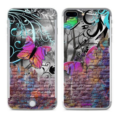 Apple iPhone 7 Plus Skin - Butterfly Wall