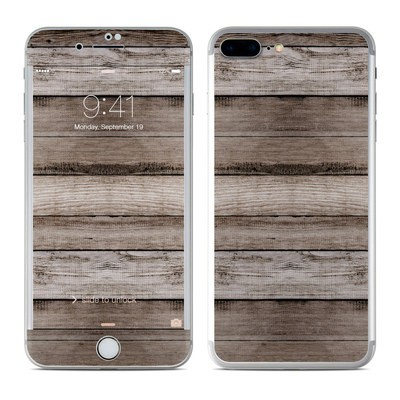 Apple iPhone 7 Plus Skin - Barn Wood