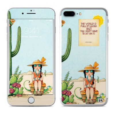 Apple iPhone 7 Plus Skin - Cactus