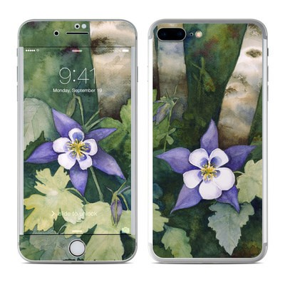 Apple iPhone 7 Plus Skin - Colorado Columbines